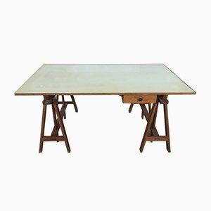 Industrieller Vintage Schreibtisch, 1950er