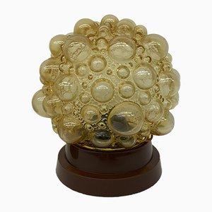 Lámparas de pared vintage de cristal burbuja, años 70. Juego de 2