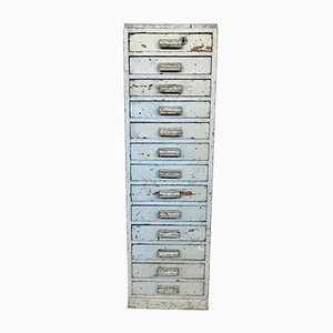 Vintage French Filing Cabinet Drawers, 1920s