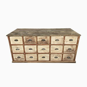 Antique Cabinet with Drawers