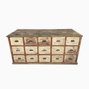 Mobiletto antico con cassetti