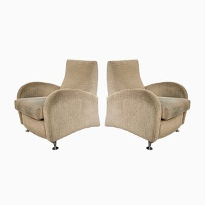 Vintage Space Age Chairs, 1970s, Set of 2