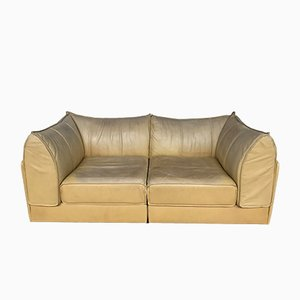 Vintage Leather Sofa from de Sede, 1970s
