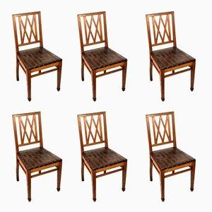 Antike Stühle im Jugendstil, 6er Set