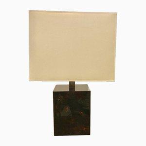 Faux Tortoiseshell Table Lamp, 1970s