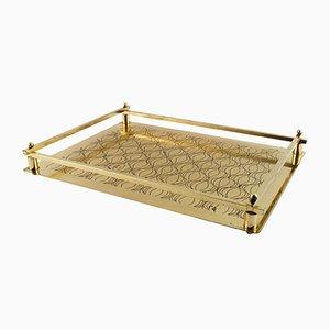 Italienischer Art Deco Tabletttisch, 1940er