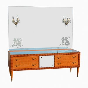 Mid-Century Dressing Table from La Permanente Mobili Cantù