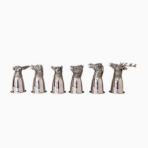 Set da liquore in argento placcato di Gucci, Italia, anni '70