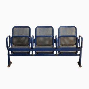 Banco vintage con asientos plegables