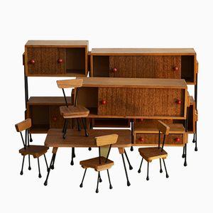 Miniaturmöbel-Set, 1970er