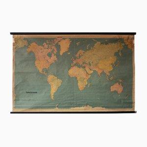 Mapa geográfico de Kummerly & Frey, años 60