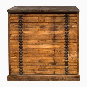 Vintage Workshop Chest of Drawers