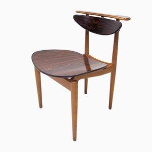 The Reading Chair BO62 di Finn Juhl per Bovirke, 1953