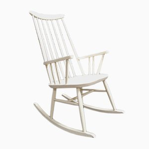 Mid-Century Rocking Chair by Roland Rainer, 1950s