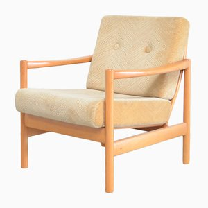 Beech Stella Easy Chair from Wilhelm Knoll, 1960s