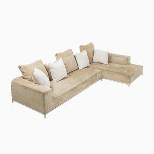 Model George Beige Corner Sofa by Antonio Citterio for B&B Italia, 2000s