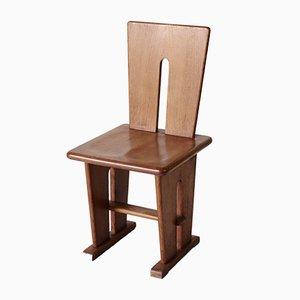 Chaise d'Appoint en Chêne par Bas van Pelt pour EMS Overschie, 1930s