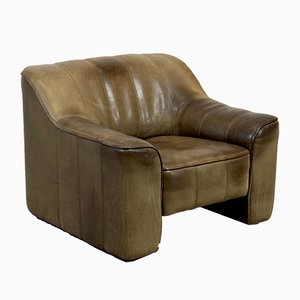 Vintage DS-44 Leather Lounge Chair from de Sede