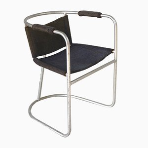 Modernist Armchair by Bas van Pelt for EMS Overshie, 1930s