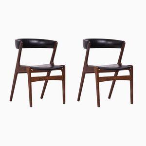 Dänische Mid-Century Sessel von Kai Kristiansen, 2er Set