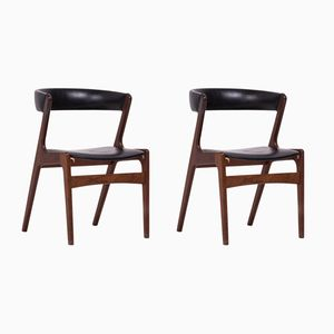 Mid-Century Danish Fire Chairs by Kai Kristiansen, Set of 2