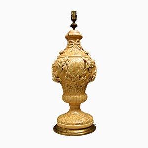 Lampada da tavolo vintage in ceramica di Manises di Bondia