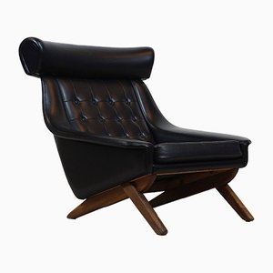 Mid-Century Lounge Chair by Illum Wikkelsø, 1950s