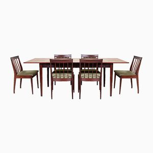 Vintage Esstisch & 6 Stühle, 1970er