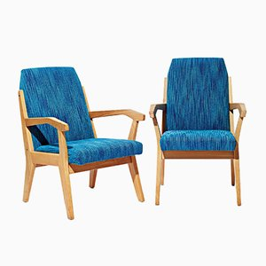 Armchairs by Rex Raab for Arbert Menger, 1950s, Set of 2