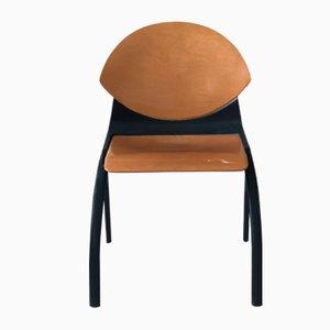Vintage Stuhl aus Schichtholz von Gerd Lange, 1980er