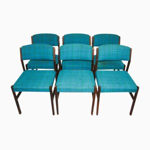Vintage Rosewood Chairs, 1970s, Set of 6