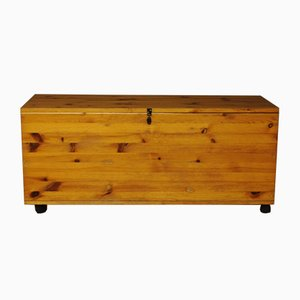 Vintage Swedish Wooden Trunk