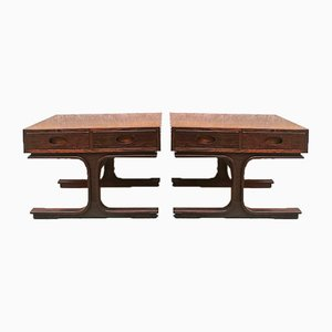 Bedside Tables from Bernini, 1957, Set of 2