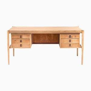Skandinavischer Schreibtisch aus Teak, 1970er