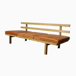 Vintage Oak Daybed Bench by Dan Svarth for Fredericia, 1978