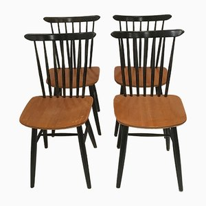 Spindleback Dining Chairs, 1972, Set of 4