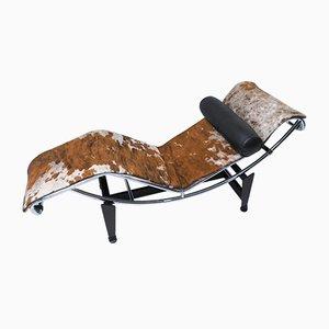 Chaise longue LC4 di Le Corbusier, Pierre Jeanneret e Charlotte Perriand per Cassina, 1995