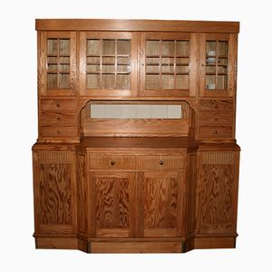 Vintage Pitch Pine Buffet, 1920s
