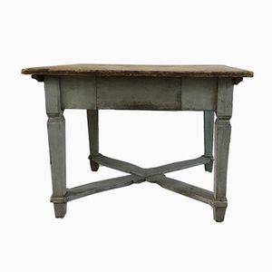 Antiker schwedischer Tisch mit Schublade