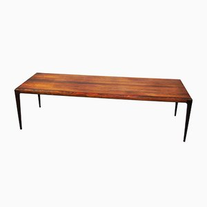 Rosewood Bench by Johannes Andersen for Poul Jeppesens Møbelfabrik, 1950s