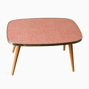 Mid-Century Pastel Side Table, 1950s