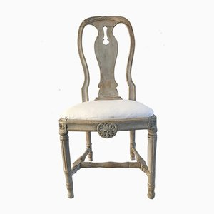 Antique Gustavian Swedish Chair