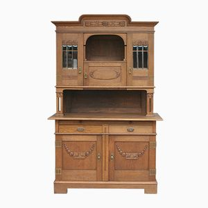 Antique French Arts & Crafts Buffet