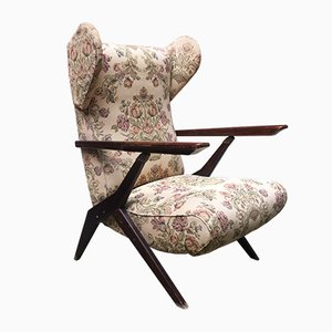 Mid-Century Reclining Armchair by Antonio Gorgone, 1950s