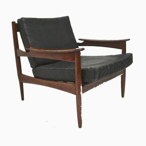 Brazilian Rosewood Easy Chair, 1960s