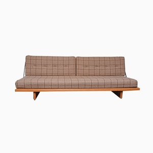 Sofá cama modelo 191 de Børge Mogensen para Fredericia, años 50