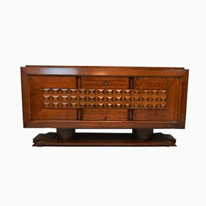Art Deco Oak Sideboard by Charles Dudouyt, 1939