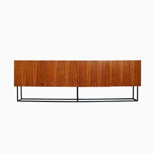 Minimalist Italian Rosewood Sideboard, 1960s