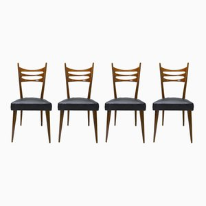 Chaises de Salon Vintage par Paolo Buffa, 1950s, Set de 4