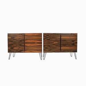 Credenza upcycled in palissandro, anni '60, set di 2